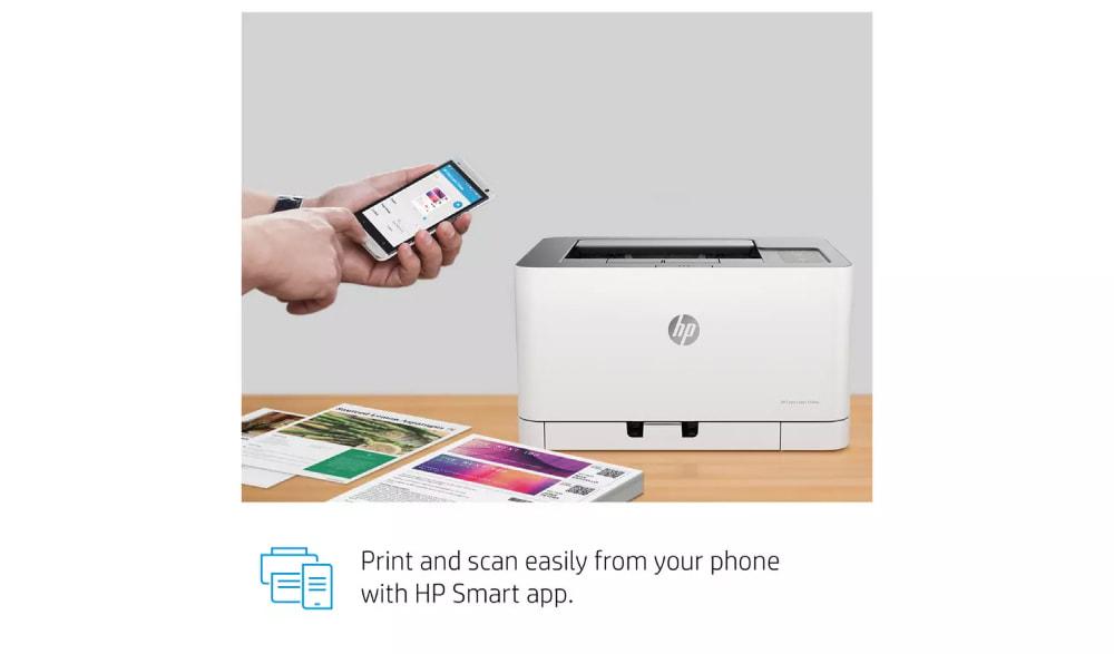 HP Color Laser 150nw Wireless Printer - Shpresa AL Computers
